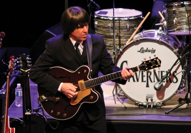 The Caverners, a Beatles cover band, have been performing for 20 years.