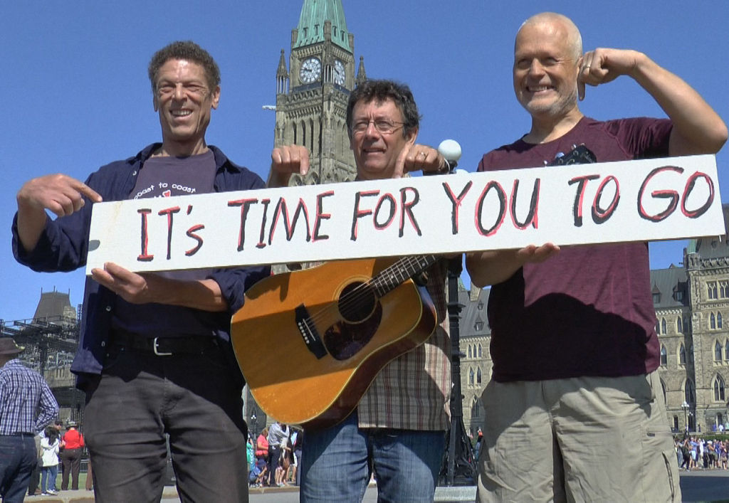 Tony Turner wrote Harperman, an iconic song that was popularized during the 2015 election. The song went viral, fuelling many Canadians' desire for change. He was suspended from his job in August for violating his conpanies valus.