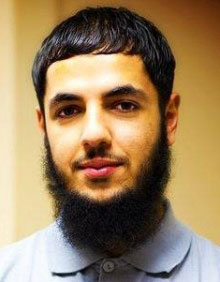 Peshdary before he was arrested in 2015.