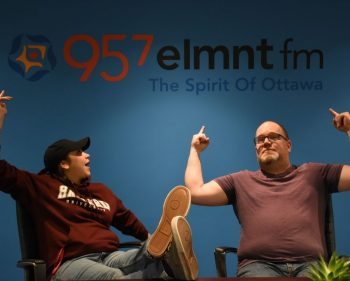 Algonquin broadcast radio graduates are all about community at 95.7 Elemnt FM