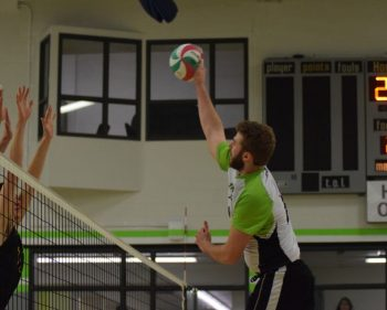 Thunder men's volleyball storm to victory over visiting Fleming Knights