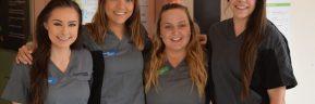 Smiling for free dental care