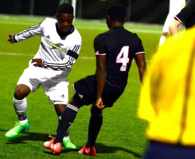 Thunder men's soccer squad rebounds with an 8-1 win after slow start