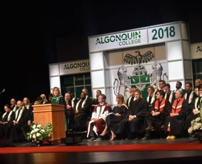 Fall grads reap fruits of their labours at convocation ceremonies