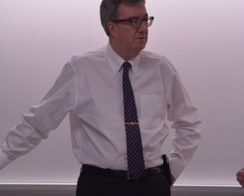Jim Watson stops by Algonquin to talk Ottawa 2017