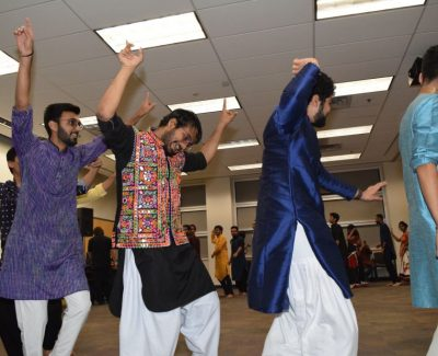 Ninth night of Navaratri brings Indian cultural celebrations to T-building