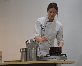 Algonquin alumna returns to share her culinary experiences