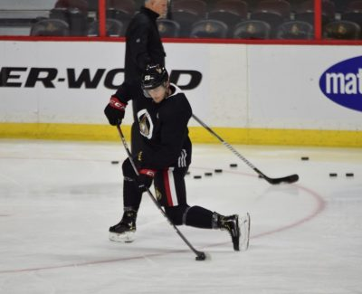 Sens' Max Lajoie a mystery man to baffled Algonquin students