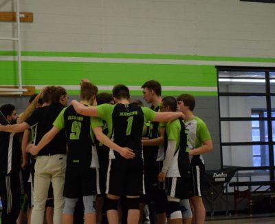 Men's Algonquin Thunder volleyball season over, fall to Condors