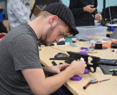 Welcome to the MakerSpace, where any thing is possible