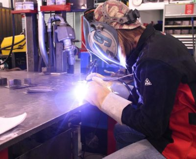 A new program works to guide more women into the welding trade