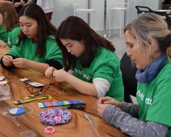 Students volunteer in Harmony House initiative