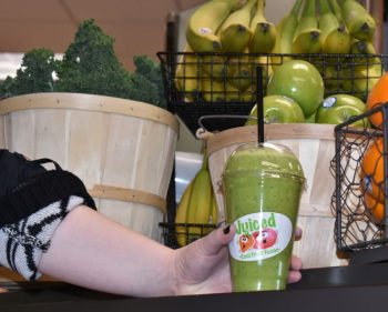 Cafeteria sham-rocks students' taste buds with green smoothie