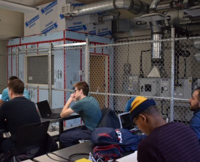 Inside a small shed in the M-building, sits big opportunities