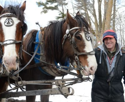 Students visit sugar shack for a sweet experience
