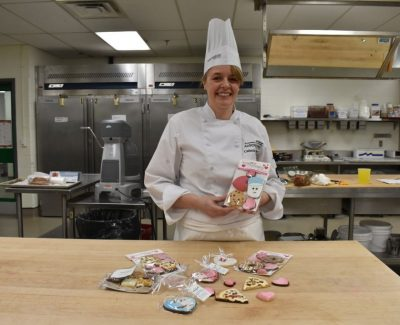 Chef Catherine Beddall prepares for Valentine's Day