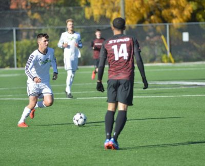 Natoli scores twice, leads Thunder men to playoffs with 5-0 rout of Seneca