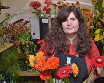 Retail florist watches career blossom