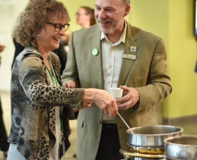 Harvest Coffee Break brings faculty together with Three Sisters Soup
