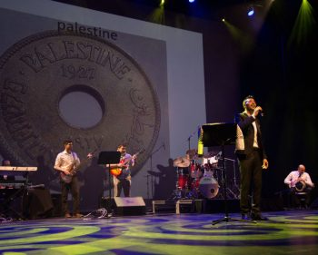 Palestinian musical show attracts many nationalities