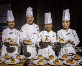 Algonquin's culinary team named favourite at fundraiser competition