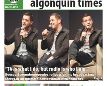 The Algonquin Times: 2013 Editions