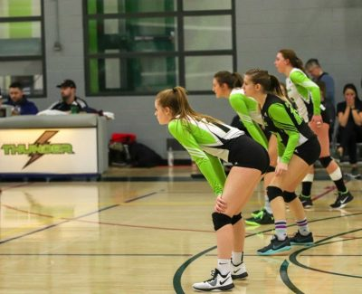 Women`s Thunder sweep Lancers 3-0