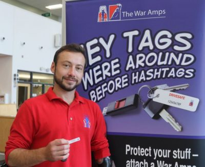 War Amps brings familiar message, service to new generation