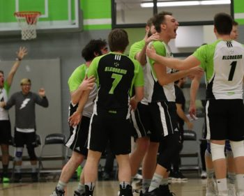 Algonquin Thunder prevail over the Loyalist Lancers in a tight five set match