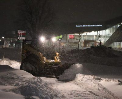 Winter storm closes college Feb. 13 until 5 p.m.
