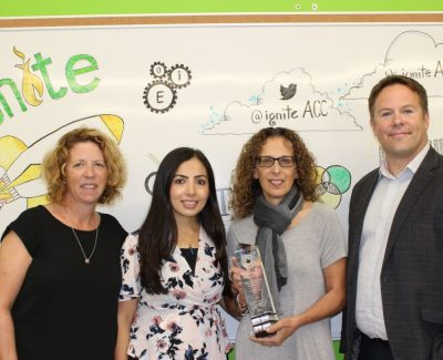Algonquin's IgniteAC honoured for entrepreneur support