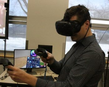 Virtual reality reaches into the future