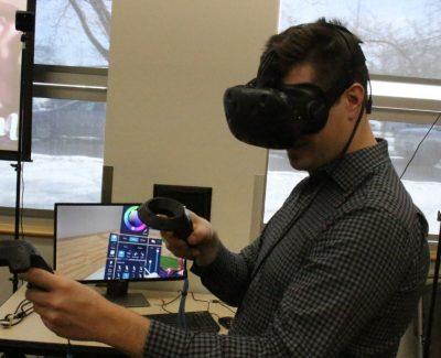 Virtual reality reaches into the future