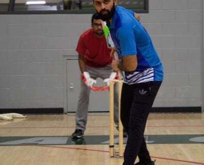 Students content with cricket intramural addition