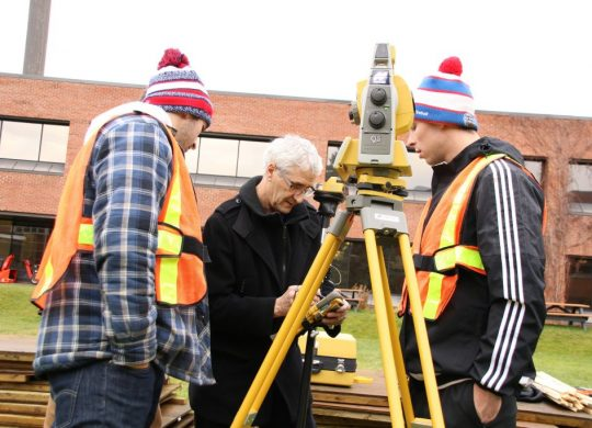 Algonquin engineering students prep AC ice rink