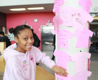 Day of Pink commemorates Pride