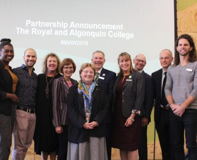 Algonquin's partnership with The Royal extends mental health services for students