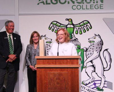 Algonquin alumni who help keep Ottawa's lights on honoured at gala