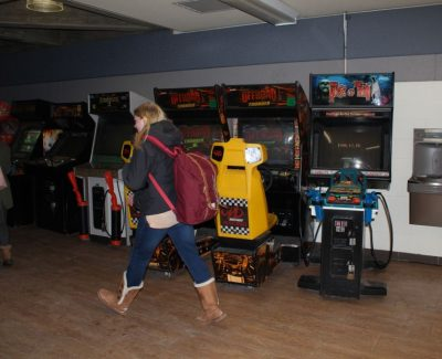 Rarely-used campus arcade games facing removal