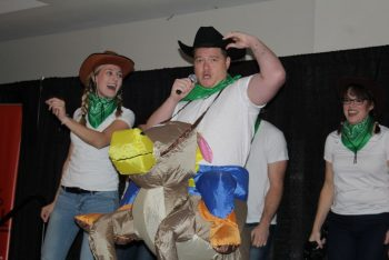 Algonquin staff kick off 'United Way Week of Giving' with annual air band competition