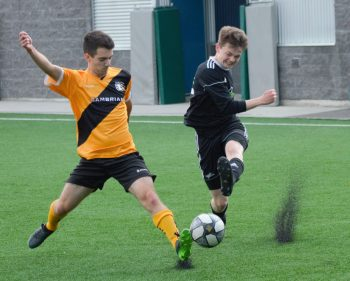Thunder men's soccer remain undefeated at the top of OCAA