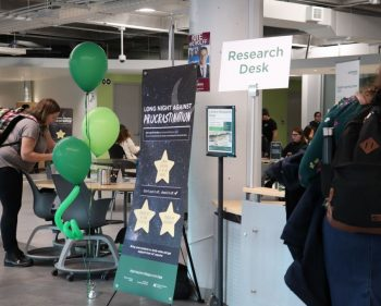 Support services' event helps students battle procrastination