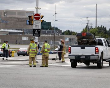 Woman seriously injured after being struck by car outside of ACCE
