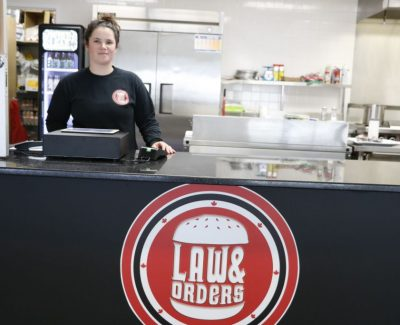 Law & Orders bringing big burgers to Perth campus