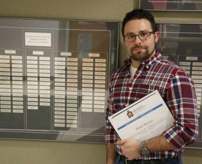 Algonquin alumni honoured by Ottawa police