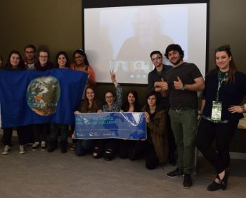 'Earth Allies' Skype with David Suzuki