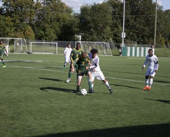 Thunder men's soccer fall 2-0 in game honouring former captain