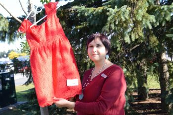 Red dresses donation raise awareness about missing and murdered indigenous women