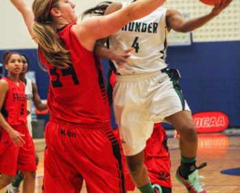 Thunder fall short of OCAA bronze medal