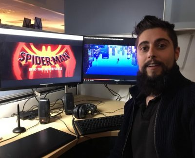 Animation grad swings into action with Spider-man movie